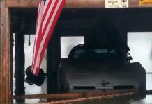 1980 Corvette Caught in Tennessee River's Flood Waters