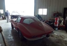 [VIDEO] Barn Find 1963 Corvette Sting Ray Coupe to be Offered 'As-Found' at Illinois Auction