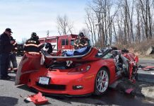 [ACCIDENT] 2013 Corvette Z06 Involved in a Three-Car Crash in Pennsylvania
