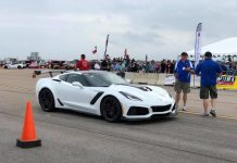 [VIDEO] Car and Driver Took a 2019 Corvette ZR1 to the Texas Mile this Weekend