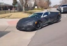 [VIDEO] Here's a Quick Glimpse of a Mid-Engine C8 Corvette in Colorado