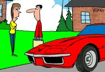 Saturday Morning Corvette Comic: The Actual Definition of Spring Cleaning
