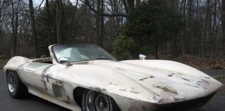 Corvettes on eBay: Fiberfab Centurion Roller Project Car