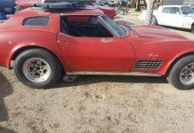 Corvettes on Craigslist: Custom 1972 Corvette Project Coupe