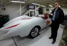Minnesota Man Builds a Speed Racer Mach 5 Replica from a Corvette