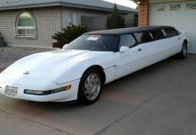 Corvettes on Craigslist: 1994 Corvette Limousine