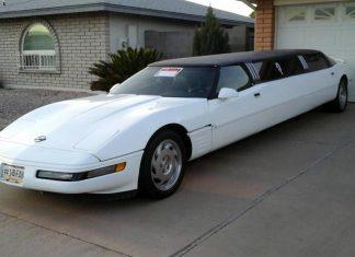 Corvettes on Craigslist: 1994 Corvette Limousine