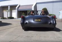 [VIDEO] Take a Ride in the 1954 Corvette ZR1 Known as the Death Star