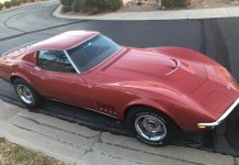 Corvettes for Sale: 1968 Corvette with L68 427/400 V8