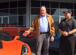 [VIDEO] National Corvette Seller Mike Furman Delivers His 4,000th Corvette