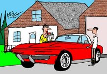 Saturday Morning Corvette Comic: No Food Allowed!