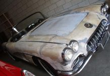 Corvettes on eBay: No Powertrain 1958 Corvette Barn Find
