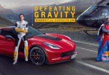 Chevrolet Europe Offers Up Defeating Gravity - Wingsuit vs Corvette Z06