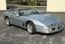 Corvettes on eBay: 1996 Callaway SuperNatural Convertible #001