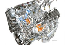 [PIC] David Kimble's Illustration of the Corvette ZR1's LT5 V8 Engine