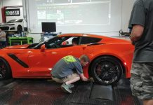 "[VIDEO] A Dyno Assistant's Arm Gets ""Run Over"" by a 2019 Corvette ZR1"