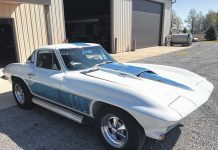 [PIC] Groovy-Painted 1966 Corvette Finally Out of Long-Term Storage