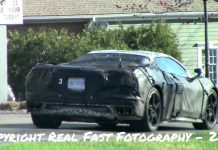 [VIDEO] Short Clip of the Mid-Engine C8 Corvette at a Stop Sign