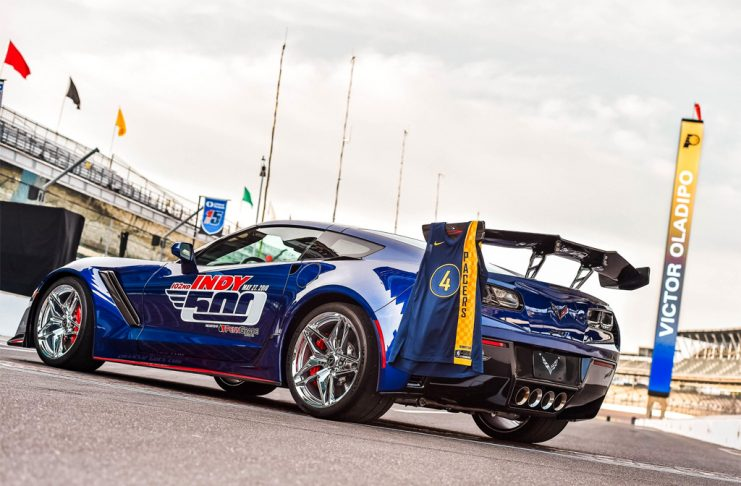 Indiana Pacers All-Star Victor Oladipo to Drive the 2019 Corvette ZR1 Indy 500 Pace Car