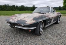 [VIDEO] Corvettes on eBay: 1963 Corvette Split Window Barn Find