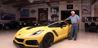 [VIDEO] 2019 Corvette ZR1 Heads to Jay Leno's Garage