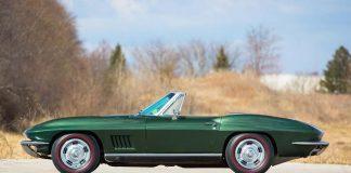 Bart Starr's Super Bowl I MVP 1967 Corvette is Headed Back Home to Green Bay