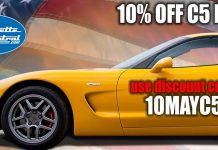 Save 10 Percent on C5 Corvette Parts This Weekend at Corvette Central