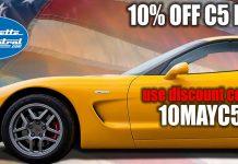 Save 10 Percent on C5 Corvette Parts This Weekend at Corvette Central