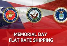 Zip Corvette's Annual Memorial Day Sale is Back with $7.95 Flat Rate Shipping