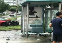 [ACCIDENT] C7 Corvette Z06 Crashes into a South Florida Bus Stop