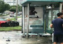[ACCIDENT] C7 Corvette Z06 Crashes into a South Florida Bus Stop
