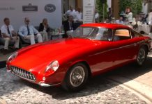 [VIDEO] 1959 Scaglietti Corvette Shown at Italy's Concorso d'Eleganza Villa d'Este
