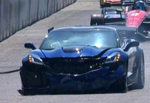 [VIDEO] 2019 Corvette ZR1 Pace Car Crashes at Detroit IndyCar Race