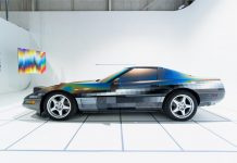 [VIDEO] Artist Felipe Pantone Shares Custom Painted 'ULTRADYNAMIC' 1994 Corvette