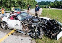 [ACCIDENT] C3 Corvette In Ruins After Collision with a Box Truck in Ohio
