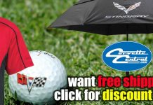 Save a Bunch of Green with Free Shipping at Corvette Central