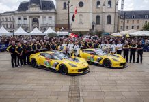 [GALLERY] Corvette Racing at Le Mans: Scrutineering in the Town Square