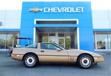 Corvettes for Sale: Barely Driven 1984 Corvette with Under 6K Miles
