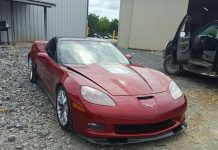 [VIDEO] Take a Deep Dive into Buying Salvage Corvettes with a Submerged C6 ZR1