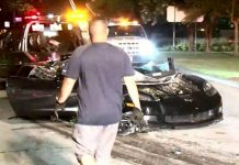 [ACCIDENT] C6 Corvette Crash in Houston Sends Two Men to Hospital