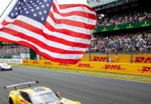 [VIDEO] Veteran Flag Flies for Corvette Racing At Le Mans for 19th Straight Year