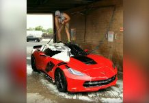 [VIDEO] How Do You Wash Your Corvette? I Bet It's Not Like This Guy!