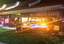 [ACCIDENT] Not Lovin It: C7 Corvette Crashes into a McDonald's Restaurant in Orlando