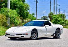 Corvettes on eBay: 2001 Corvette Z06 in RARE Speedway White