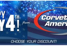 Choose Your Discount During Corvette America's Independence Day Sale