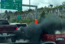 [VIDEO] Dodge Ram Driver Exacts 'Road Rage Revenge' on C5 Corvette Driver