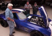 [VIDEO] Superformance Corvette Grand Sports Visit Jay Leno's Garage