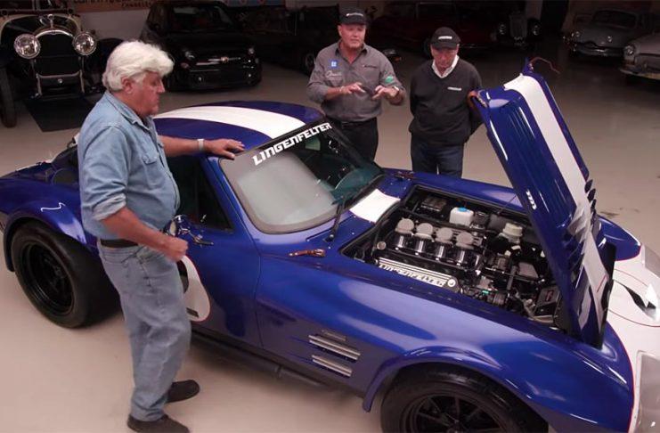 [VIDEO] Superformance Corvette Grand Sports Visit Jay Leno's Garage