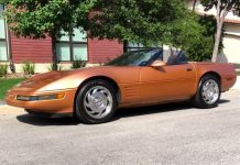 Corvettes on Craigslist: Rare Copper 1994 Corvette Convertible in Texas
