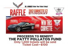 Criswell Chevrolet to Raffle a 2017 Corvette Stingray to Benefit Patty Pollatos Fund